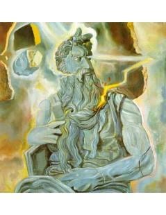 Mojżesz Michała Anioł, na Grobowcu Juliusza II w Rzymie