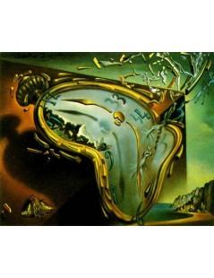 Tytuł: Miękki zegar w momencie pierwszej eksplozji, Autor: Salvador Dali