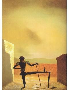 Tytuł: Widmo Vermeera, Autor: Salvador Dali