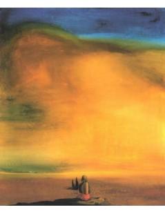 Tytuł: Cukrowy Sfinks, Autor: Salvador Dali