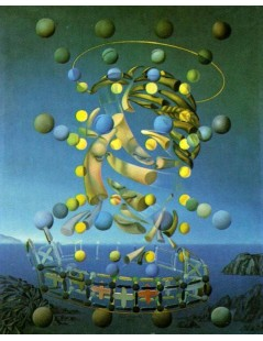 Tytuł: The Maximum Speed of Raphael, Autor: Salvador Dali