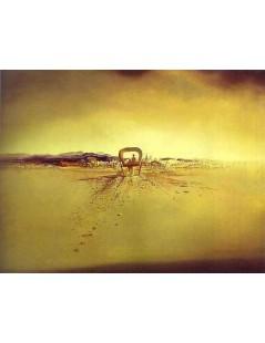 Tytuł: Widmowy Wóz, Autor: Salvador Dali