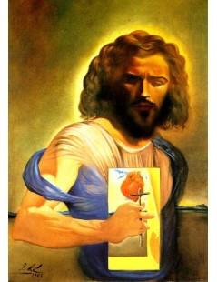 Tytuł: Najświętsze Serce Jezusa, Autor: Salvador Dali