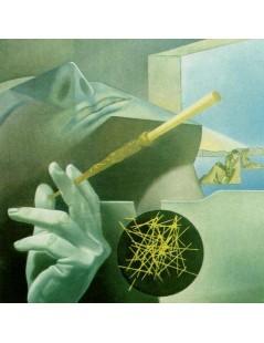 Tytuł: Śpiący Palacz, Autor: Salvador Dali