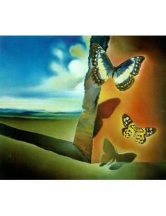 Tytuł: Krajobraz z Motylami, Autor: Salvador Dali