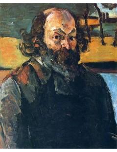 Tytuł: Autoportret, Autor: Pierre Auguste Renoir