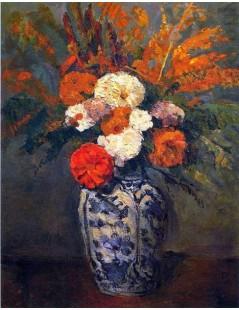 Tytuł: Dalie, Autor: Paul Cezanne