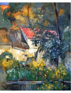 Tytuł: Dom Ojca Lacroix w Auyers, Autor: Paul Cezanne
