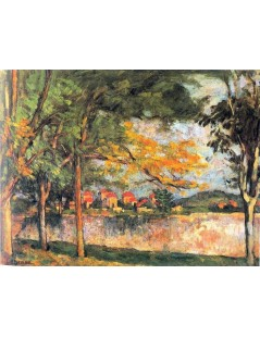 Tytuł: Droga, Autor: Paul Cezanne