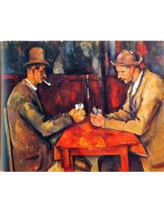 Tytuł: Grający w karty, Autor: Paul Cezanne