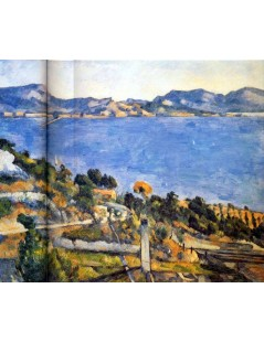 Tytuł: Estaque i Zatoka Marsylska, Autor: Paul Cezanne
