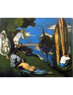 Tytuł: Idylla, Autor: Paul Cezanne