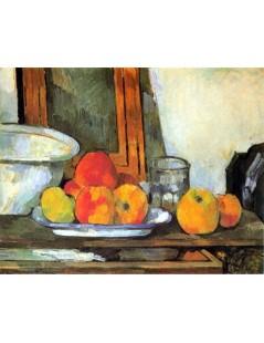 Tytuł: Martwa natura z otwartą szufladą, Autor: Paul Cezanne