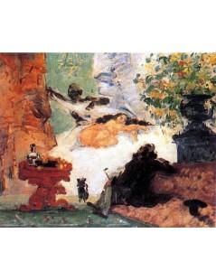 Tytuł: Nowoczesna Olimpia, Autor: Paul Cezanne