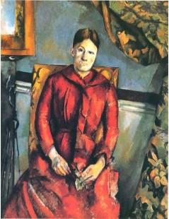 Tytuł: Pani Cezanne w żółtym fotelu, Autor: Paul Cezanne