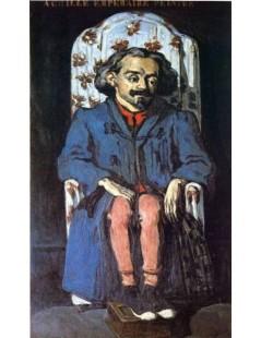 Tytuł: Portret Achille Emperaire, Autor: Paul Cezanne