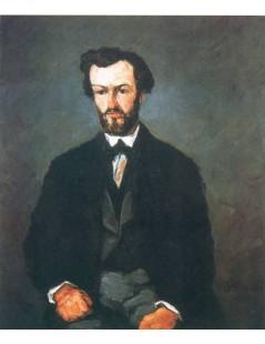 Tytuł: Portret Antonina Valabregue, Autor: Paul Cezanne