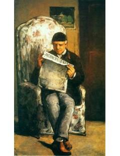Tytuł: Portret ojca, Autor: Paul Cezanne
