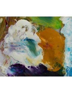 Tytuł: Abstrakcja twarze, Autor: Emilia Czupryńska