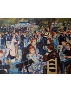 Tytuł: Bal w Moulin de la Galette, Autor: Pierre Auguste Renoir