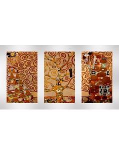 Tytuł: Tryptyk, Klimt Drzewo życia, Autor: Gustav Klimt