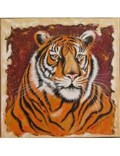 Tytuł: Portret - Tygrys, Autor: Emilia Czupryńska