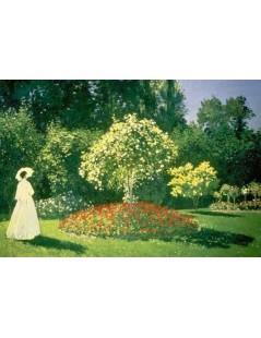 Tytuł: Kobieta w ogrodzie II, Autor: Claude Monet
