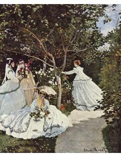 Tytuł: Kobiety w ogrodzie, Autor: Claude Monet