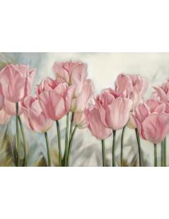 Tytuł: Inspiracja naturą, tulipany, Autor: Emilia Czupryńska