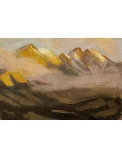 Pejzaż górski. Żółta Turnia