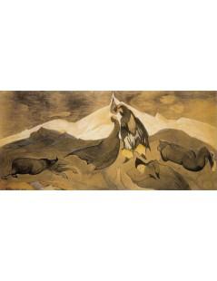 Pocałunek mongolskiego księcia w lodowej pustyni
