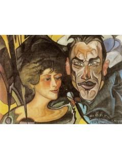 Portret Anny i Jarosława Iwaszkiewiczów
