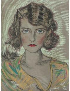 Portret Modesty Zwolińskiej