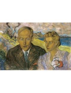 Portret podwójny Heleny Lisińskiej i Jana Gadomskiego