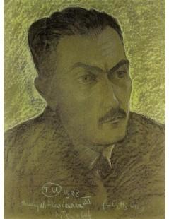 Tytuł: Portret Tadeusza Boya, Autor: Stanisław Witkacy