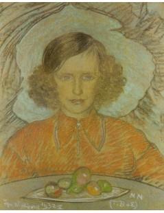 Tytuł: Portret Teresy Głód, Autor: Stanisław Witkacy