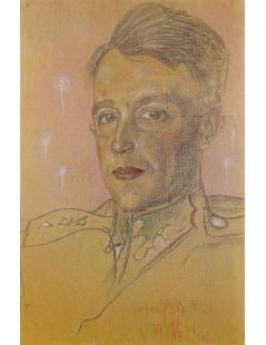 Tytuł: Portret Wacława Bundyka, Autor: Stanisław Witkacy