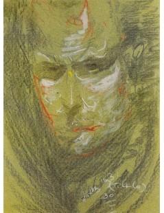 Tytuł: Portret Zana Juniora, Autor: Stanisław Witkacy