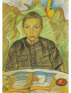 Tytuł: Portret Zbyszka Nawrockiego, Autor: Stanisław Witkacy