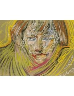 Tytuł: Portret Zofii Jagodowskiej, Autor: Stanisław Witkacy