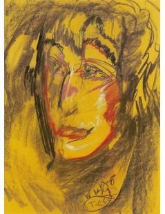 Tytuł: Portret Zofii Mohuczyny, Autor: Stanisław Witkacy