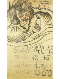 Tytuł: Tak pije kobieta rasowa i dobrze wychowana, Autor: Stanisław Witkacy