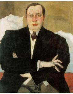 Tytuł: Udzielny BYK na urlopie, portret Leona Chwistka, Autor: Stanisław Witkacy