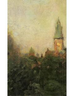 Tytuł: Widok na Wawel, Autor: Stanisław Witkacy