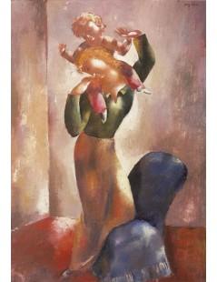 Tytuł: Kobieta z dzieckiem, Autor: Eugeniusz Zak