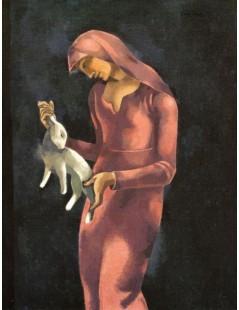 Kobieta z królikiem