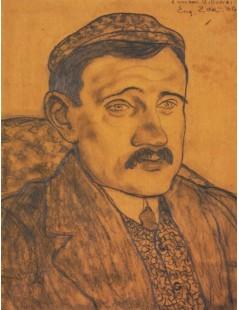 Tytuł: Portret mężczyzny, Autor: Eugeniusz Zak