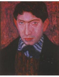 Tytuł: Portret młodego mężczyzny, Autor: Eugeniusz Zak
