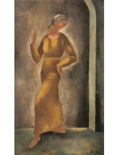 Tytuł: Tańcząca, Autor: Eugeniusz Zak
