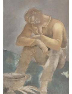 Tytuł: Żebrak, Autor: Eugeniusz Zak